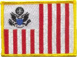 United States Customs Flag Patch